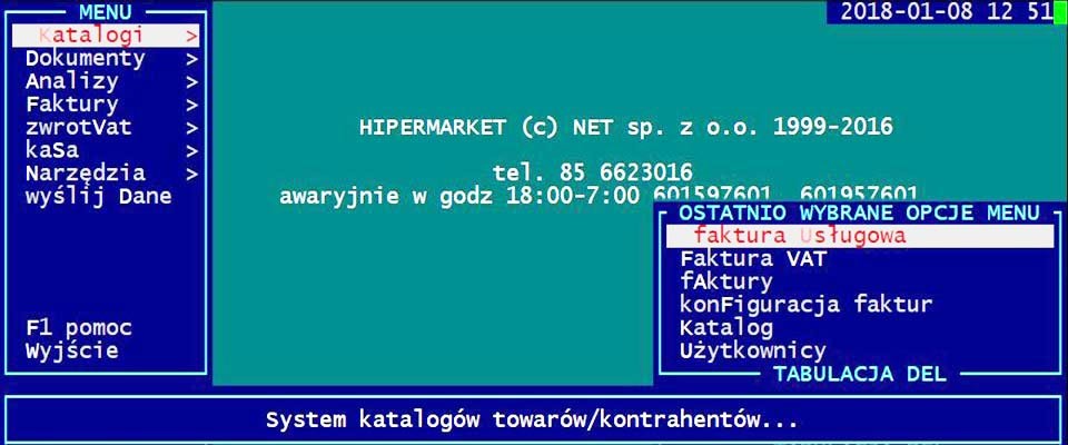 Program do sklepu hipermarket